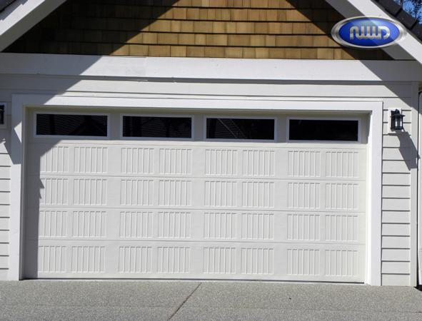 Garage door gallery the bay area garage doors for Garage bay size